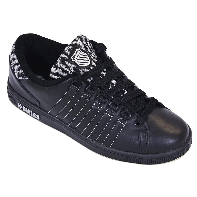 k swiss lozan ii black ladieswear footwear. Black Bedroom Furniture Sets. Home Design Ideas