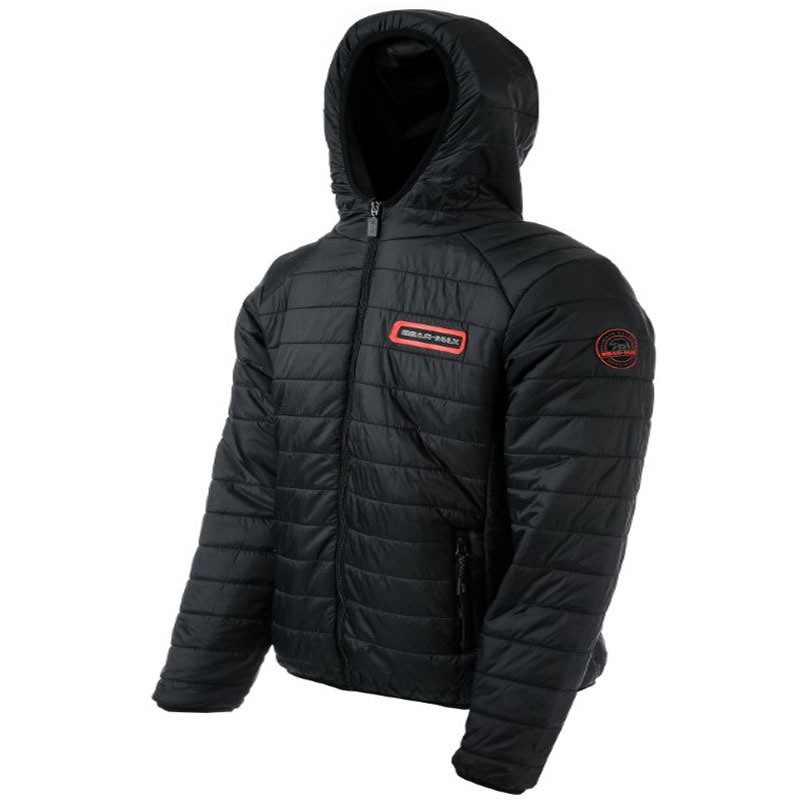 GRIZZLY HOODED JACKET BLACK