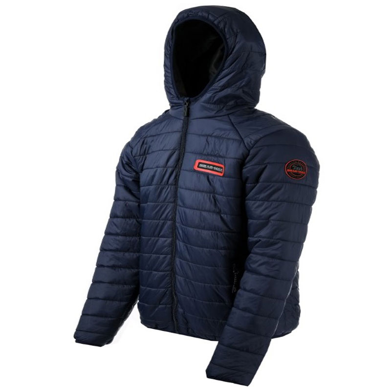 GRIZZLY HOODED JACKET NAVY