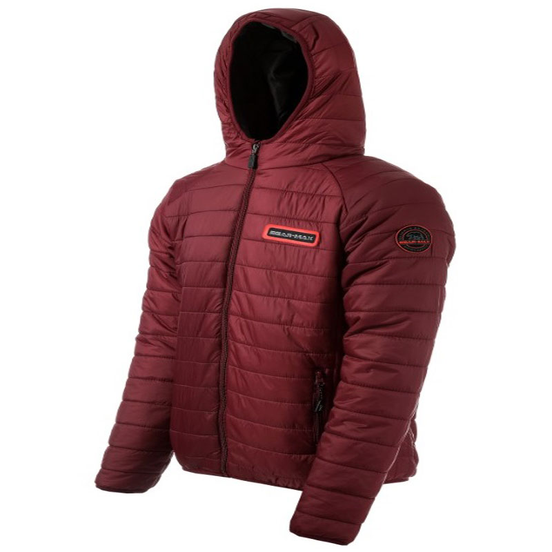 GRIZZLY HOODED JACKET RED