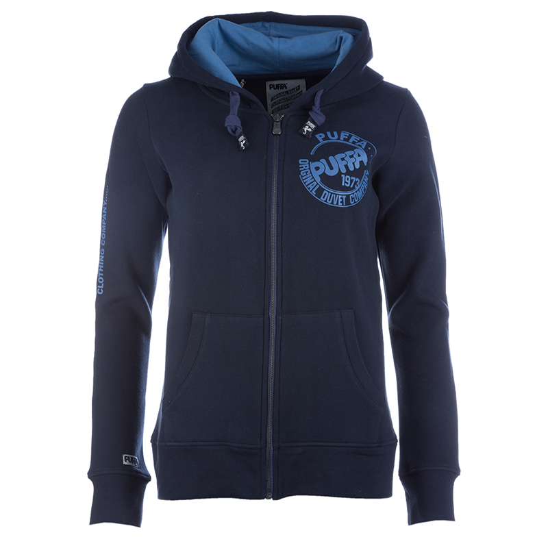 Ladies Zip Through Hoodie